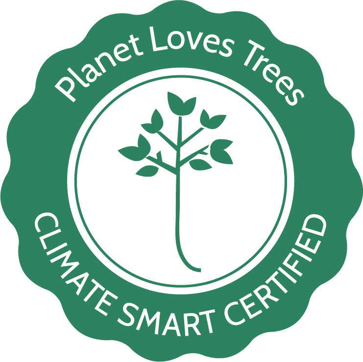 Planet Loves Trees certificate